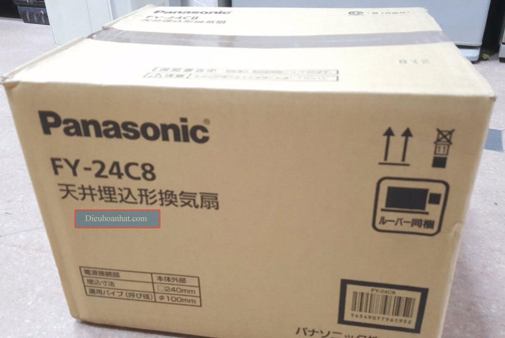 Quat am tran thong gio noi dia nhat Panasonic FY-24C8